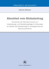 Cover Abschied vom Globalantrag