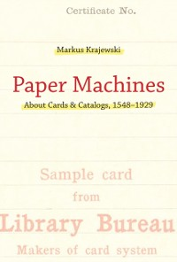 Cover Paper Machines
