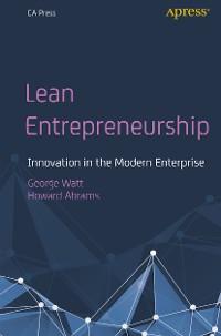 Cover Lean Entrepreneurship