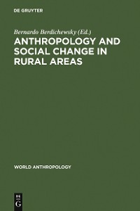 Cover Anthropology and Social Change in Rural Areas