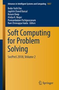 Cover Soft Computing for Problem Solving