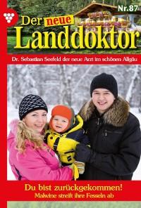 Cover Der neue Landdoktor 87 – Arztroman