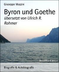 Cover Byron und Goethe