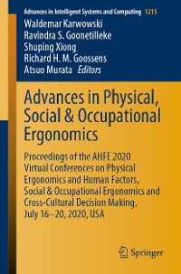 Cover Advances in Physical, Social & Occupational Ergonomics