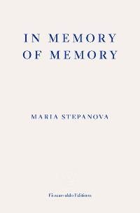 Cover In Memory of Memory