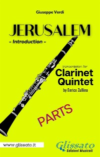 Cover Jerusalem - Clarinet Quintet/Ensemble (parts)