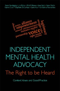 Cover Independent Mental Health Advocacy - The Right to Be Heard