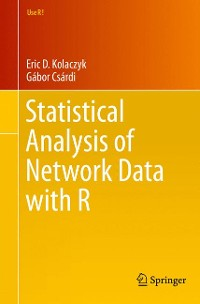 Cover Statistical Analysis of Network Data with R