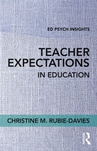 Cover Teacher Expectations in Education