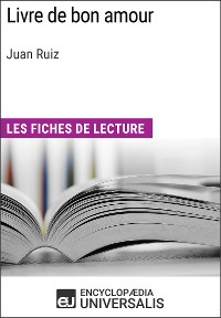 Cover Livre de bon amour de Juan Ruiz