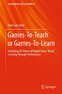 Cover Games-To-Teach or Games-To-Learn