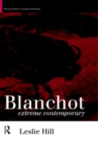 Cover Blanchot