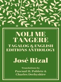 Cover Noli Me Tangere: Tagalog and English Editions Anthology