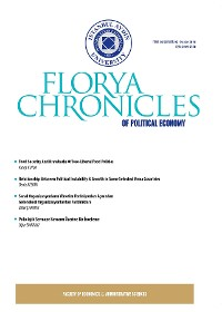 Cover Florya Chronicles of Political Economy