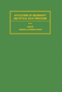 Cover Applications of Holography and Optical Data Processing