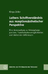 Cover Luthers Schriftverständnis aus rezeptionsästhetischer Perspektive