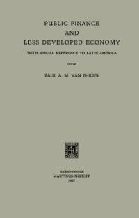 Cover Public Finance and Less Developed Economy