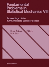 Cover Fundamental Problems in Statistical Mechanics, VIII