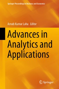 Cover Advances in Analytics and Applications