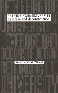 Cover Rethinking the university