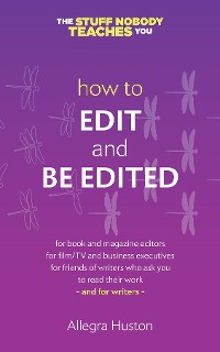Cover How to Edit and Be Edited