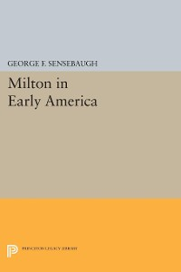 Cover Milton in Early America