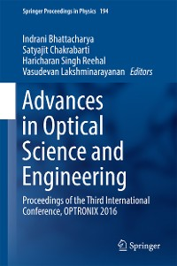 Cover Advances in Optical Science and Engineering