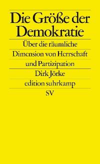 Cover Die Größe der Demokratie