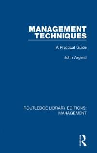 Cover Management Techniques
