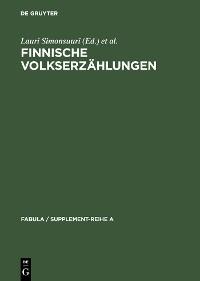 Cover Finnische Volkserzählungen