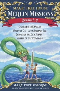 Cover Magic Tree House Merlin Missions 1-4