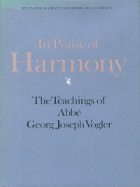 Cover In Praise of Harmony