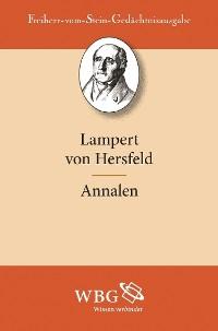 Cover Lampert von Hersfeld: Annalen