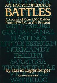 Cover An Encyclopedia of Battles