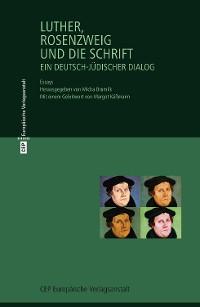 Cover Luther, Rosenzweig und die Schrift