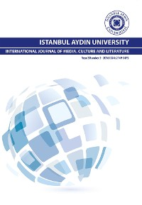 Cover ISTANBUL AYDIN UNIVERSITY INTERNATIONAL JOURNAL OF MEDIA, CULTURE AND LITERATURE