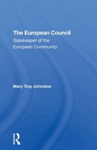 Cover European Council