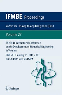 Cover The Third International Conference on the Development of Biomedical Engineering in Vietnam