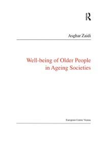 Cover Well-Being of Older People in Ageing Societies