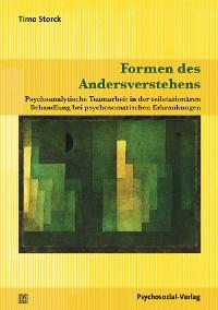 Cover Formen des Andersverstehens