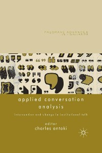 Cover Applied Conversation Analysis