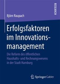 Cover Erfolgsfaktoren im Innovationsmanagement