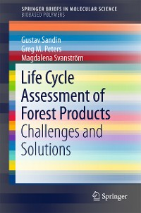 Cover Life Cycle Assessment of Forest Products