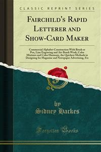 Cover Fairchild's Rapid Letterer and Show-Card Maker
