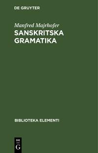 Cover Sanskritska Gramatika
