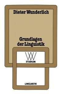Cover Grundlagen der Linguistik