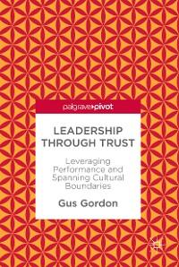 Cover Leadership through Trust