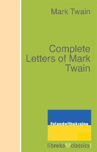 Cover Complete Letters of Mark Twain