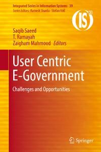 Cover User Centric E-Government