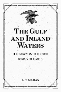 Cover The Gulf and Inland Waters: The Navy in the Civil War. Volume 3.